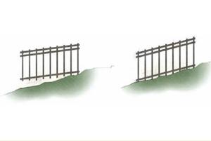 Aluminum Fence yard diagram