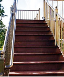 Secondary Handrail vinyl decking accessory