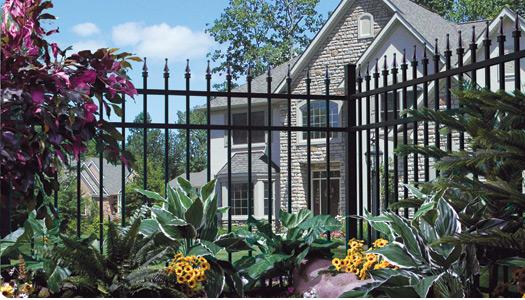 Series 100 Aluminum Fence