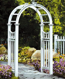 The Vienna Arbor Style Railing