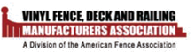 Vinyl Fence, Deck and Railing Manufacturers Association Logo
